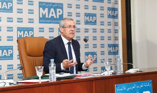M. Mohammed Ben Abdelkader invitÈ du Forum de la MAP_KE