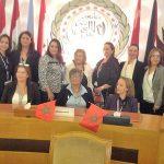 Caire_delegation_de_femmes
