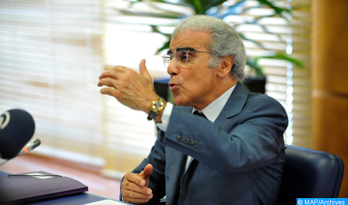 Abdellatif Jouahri Wali Bank Al-Maghrib BAM -DS
